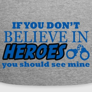 Polizei: If You Don´t Believe In Heroes You Should - Jersey-Beanie