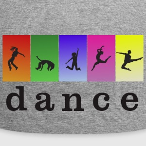 LOVE DANCING WITH COLOR - Jersey Beanie