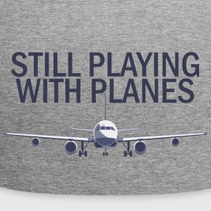 Pilot: Still Playing With Planes. - Jersey Beanie