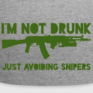 Military / Soldiers: I'm not drunk. Just avoiding - Jersey Beanie