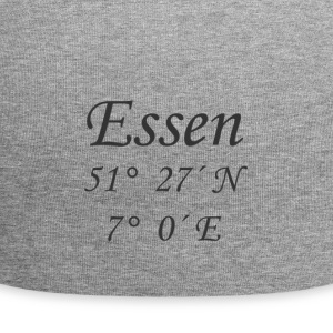 Geographical coordinates food - Jersey Beanie