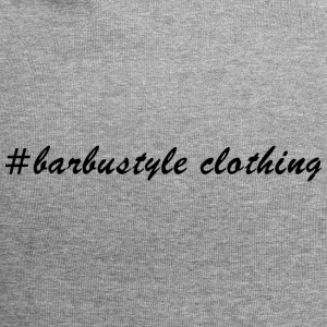 #barbustyle sort - Jersey-Beanie