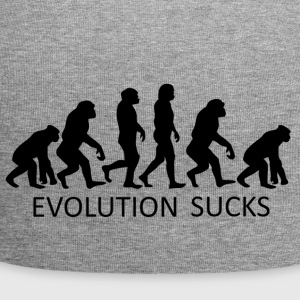 ++Evolution Sucks++ - Jersey-Beanie