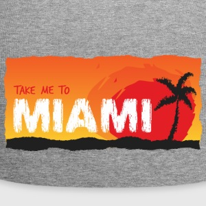 Take Me To Miami - Beanie in jersey