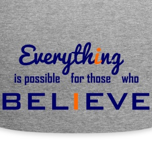 Everything is possible - Jersey Beanie