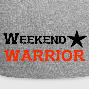 Shirt Weekend Warrior Wochenende Party - Jersey-Beanie
