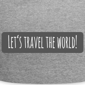lets travel the world - Jersey-Beanie