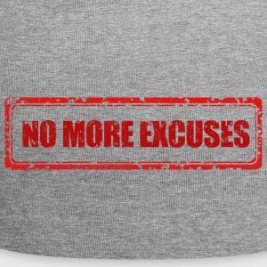 NO MORE EXCUSES - Jersey Beanie