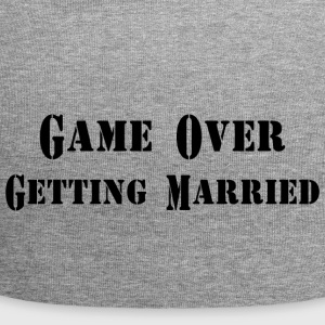 GAME OVER GETTING MARRIED - Jersey Beanie