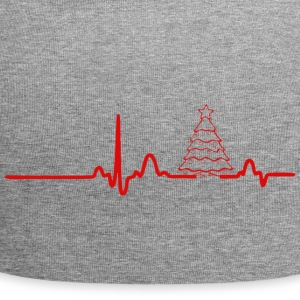 ECG HEARTLINK CHRISTMAS red - Jersey Beanie