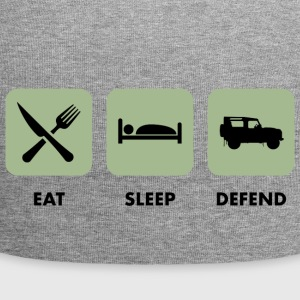 Eat, Sleep & Defend - Beanie in jersey