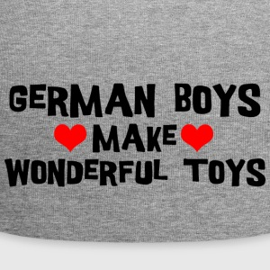 German Men Boys Make Wonderful Toys - Jersey Beanie