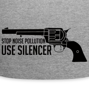 Military / Soldiers: Stop Noise Pollution, Use - Jersey Beanie