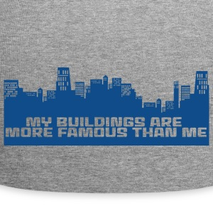 Architect / Architecture: My Buildings are more - Jersey Beanie