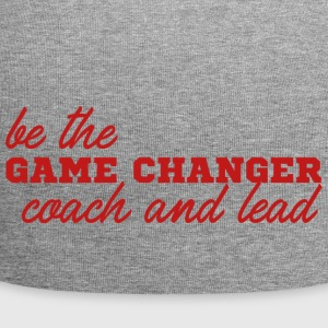 Coach / Trainer: Be The Game Changer. Coach and - Jersey-Beanie