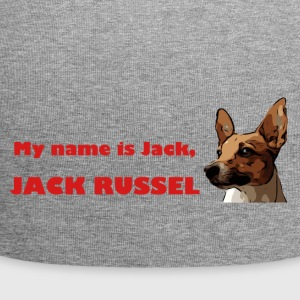 My name is jack red - Jersey Beanie