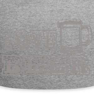 gris BEER LOVE - Bonnet en jersey