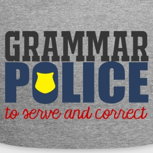 Polizei: Grammar Police to serve and correct - Jersey-Beanie