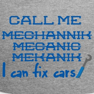 Mechaniker: Call Me Mechanic - I can fix cars. - Jersey-Beanie