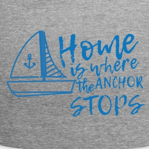 Sailing: Home is where the anchor stops - Jersey Beanie