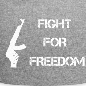 Fight for Freedom -WHITE - Jersey Beanie
