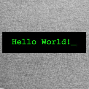Hello World! - Jersey Beanie