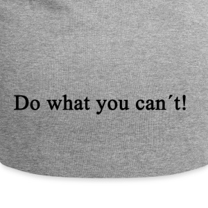 Do What You Can't! - Jersey Beanie