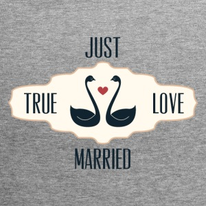 Just Married True Love - Bonnet en jersey