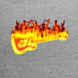 fire guitar - Beanie in jersey