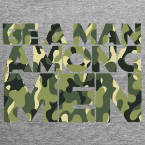 Military / Soldiers: Be A Man Among Men - Jersey Beanie
