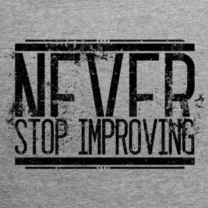 Never Stop Improving Alt 001 AllroundDesigns - Jersey-Beanie