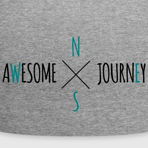 Awesome Journey - Travel (biltur) T-shirt - Jersey-Beanie