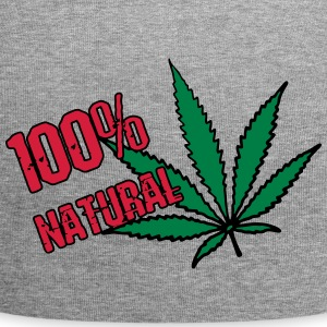 weed - 100% natural hemp - Jersey Beanie