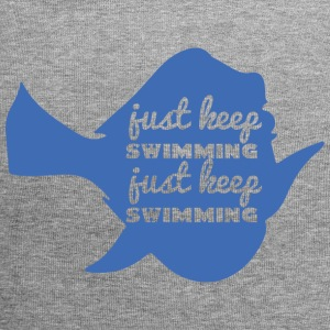 Swimming / Swimmer: Just Keep Swimming - Jersey Beanie