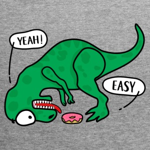 T-REX trying to eat a donuts T-shirt - Jersey Beanie