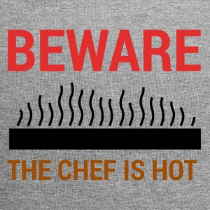 Chef / Chef Cook: Beware - The Chef Is Hot. - Jersey Beanie