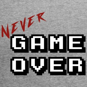 Never game over white - Bonnet en jersey