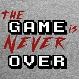 The game is never over_v2 - Bonnet en jersey