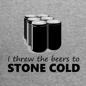 I threw the beers to Stone Cold - Jersey Beanie
