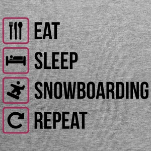 Eat Sleep Snowboarding Repeat - Jersey Beanie