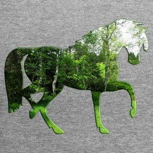 forest horse - Jersey Beanie