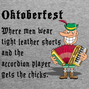 Oktoberfest Accordion Player - Bonnet en jersey