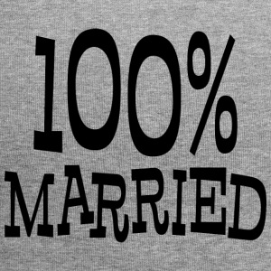 Just Married 100% - Beanie in jersey