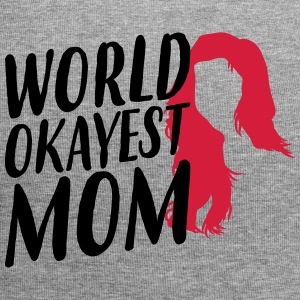 World Okeyest Mom - Mother's Day - Jersey Beanie