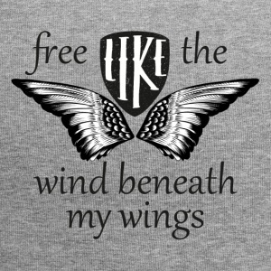 free like the wind beneath my wings - Jersey-Beanie