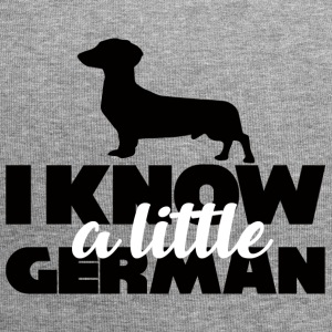 Dachshund: I know a little German - Jersey Beanie