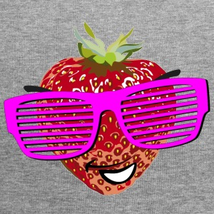 horny strawberry strawberry cool sunglasses Hipste - Jersey Beanie