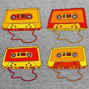 Music cassette compact cassette magnetic tape Retro - Jersey Beanie