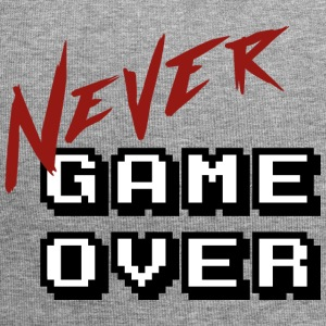 Big_Never_game_Over_white - Jersey-Beanie