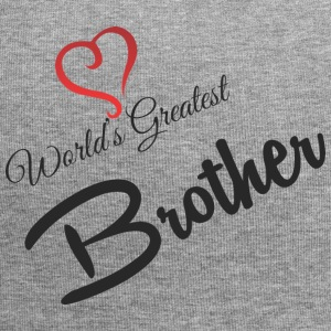 WORLDS GREATEST BROTHER - Jersey Beanie